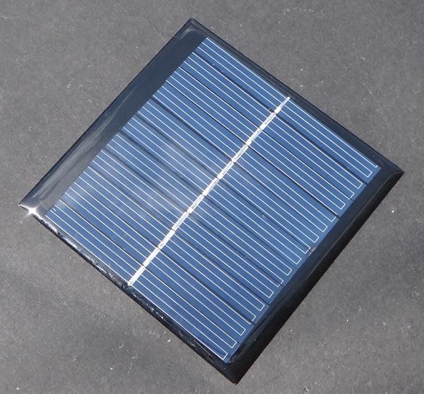 1watt 5 5v 180ma Mini Solar Panels Small 3 6v Battery Charge Led