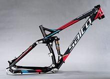 Salto ams крест 1.0 Mountain Амортизатор велосипед Алюминиевый сплав мягкий хвост MTB подвеска рамки черный красный глянец