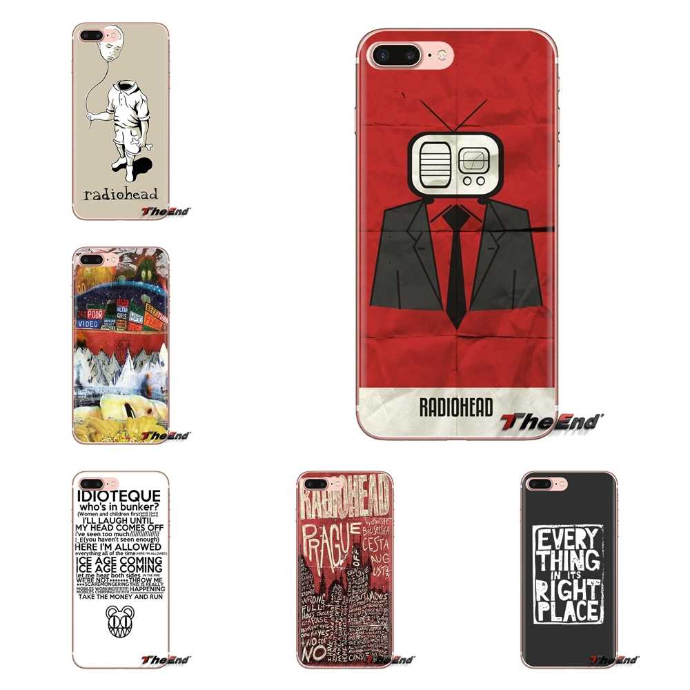 Radiohead Everything in Its Right For iPod Touch Apple iPhone 4 4S 5 5S SE 5C 6 6S 7 8 X XR XS Plus MAX TPU Transparent Bag Case