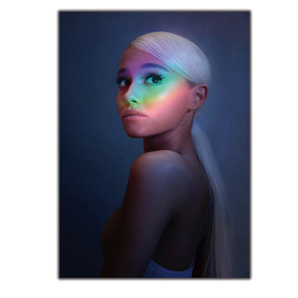 G-504 Ariana Grande No Tears Left to Cry Cover Art Silk Poster 14x21 24x36