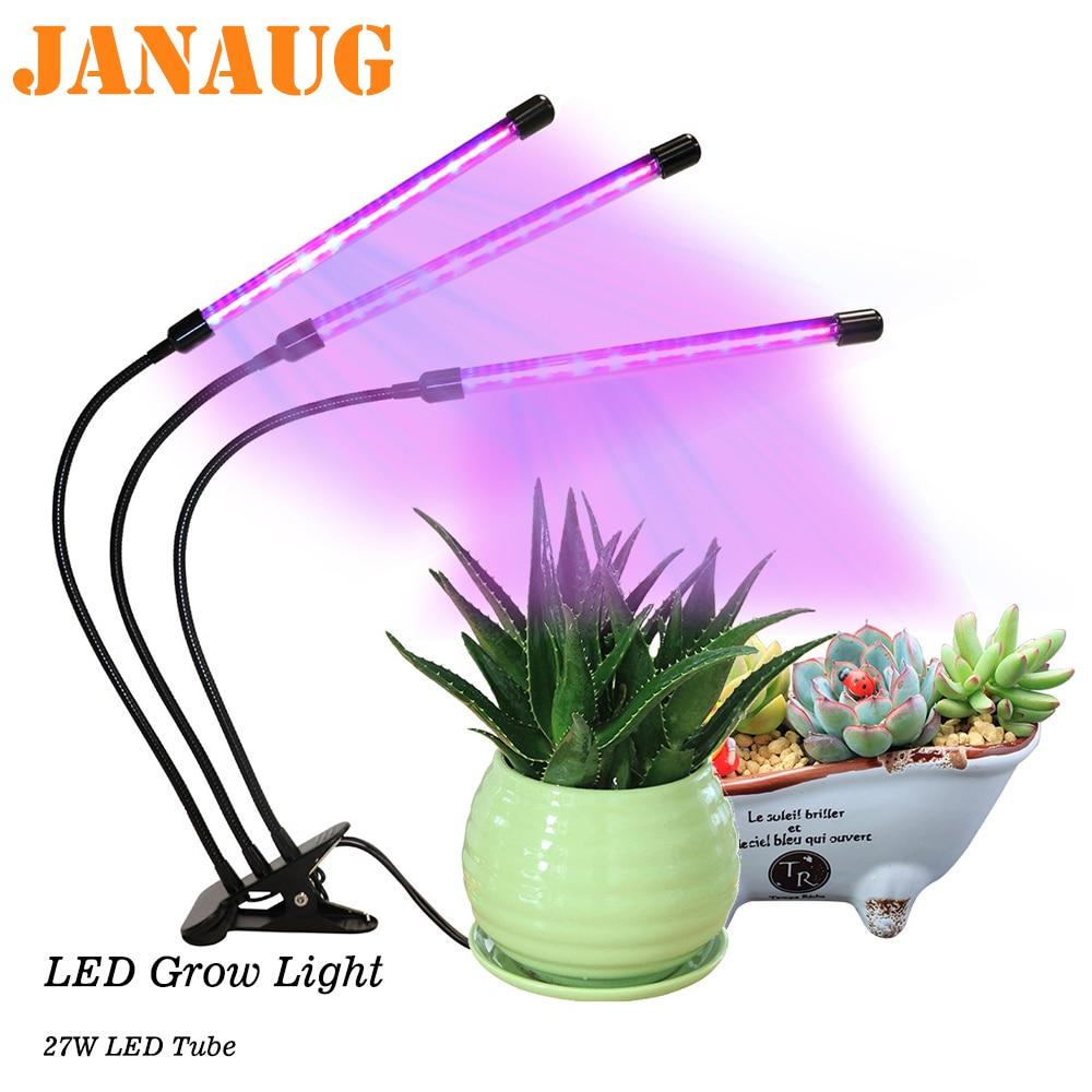 House Plant Grow Light: LED Grow Light Full Spectrum For Indoor House Plants Auto