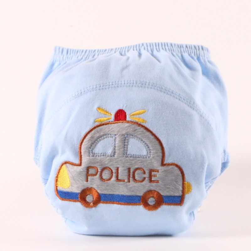 30pc/lot Free Shipping  Baby Training Pants Baby Diaper Reusable Nappy Washable Diapers Cotton Ten Designs Size 80/90/100