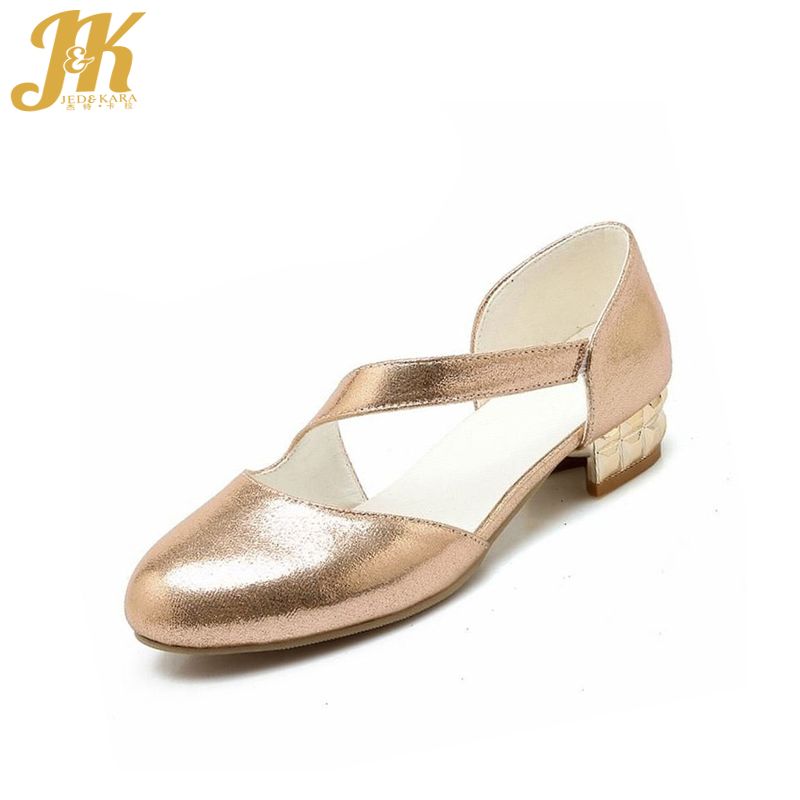 Concise Sexy Bandage Heels Hot Sale Summer Two Piece Women Pumps Big Size 32-47 Retro Style Shoes Thick Low Heels Shoes Woman