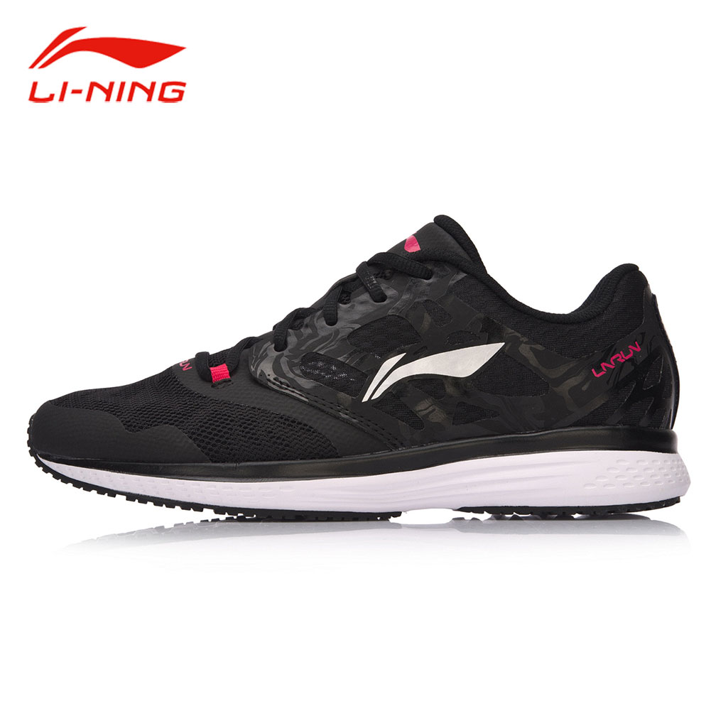 Li-Ning Women SPEED STAR Light Cushion Running Shoes Wear-resistant Breathable Textile Sneakers LI NING Sports Shoes ARHM032 li ning women walking shoes light weight textile