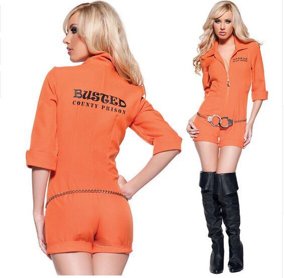 Online Get Cheap Orange Prisoner Costume Women -Aliexpress.com ...