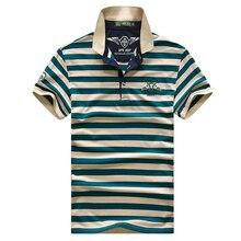 Высокое качество марка мужчины футболка-поло новый летний случайный полосатый хлопок мужские поло твердые рубашки поло поло ralp мужчины camisa(China (Mainland))