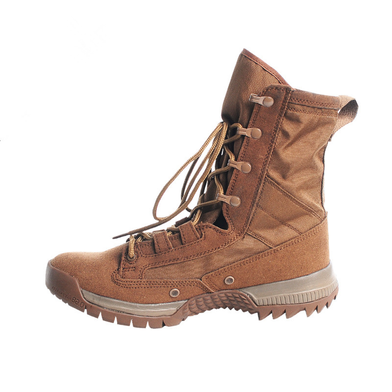 Mens Army Tactical Boots Military Combat Climbing Hiking Desert SWAT Work Shoes