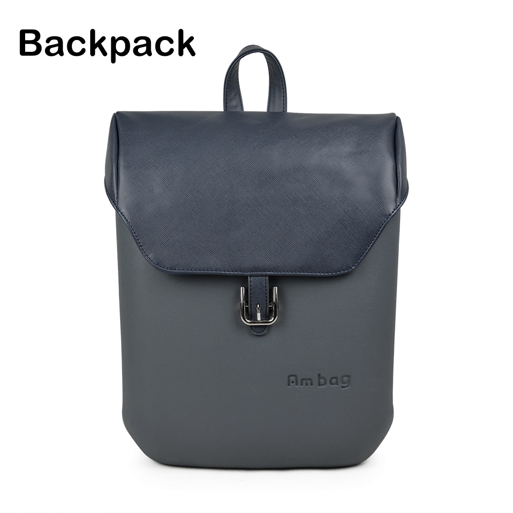 ANLAIBEIER Ambag Backpack Womens Casual Fashion Obag Style Large Capacity AMbag Body with Colorful Handles covers DIY