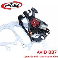 AVID BB7 MTB Mountain Bike Mechanical Disc Brakes Calipers Bicycle Parts 1 Pair 2pcs Free Shipping