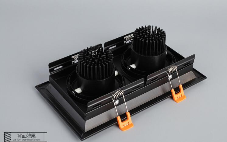 1Pcs 10W 20W 30W 110V 220V LED DIMMABLE Առաստաղի ներքևի - Ներքին լուսավորություն - Լուսանկար 4