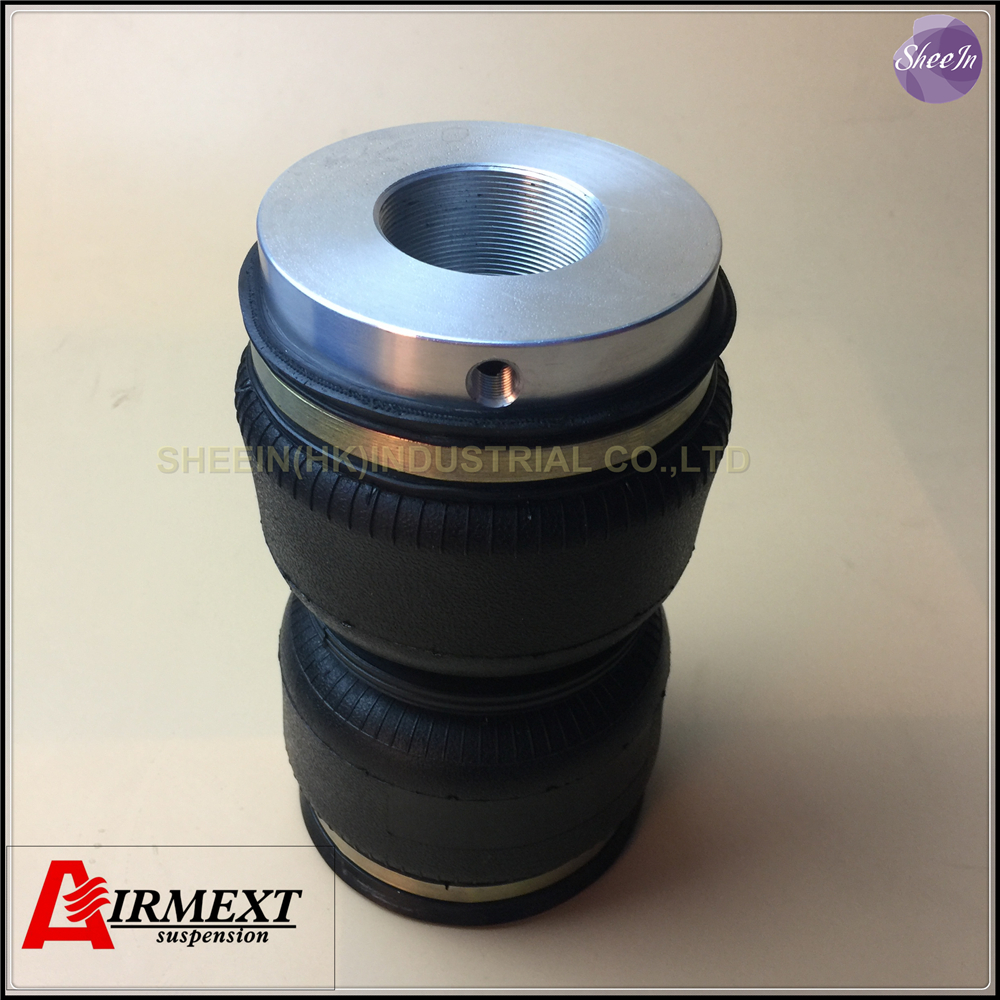 ФОТО SN120180BL2-BC /Fit BC coilover BR type Thread M53*2mm /Air suspension Double convolute rubber airspring/airbag shock absorber