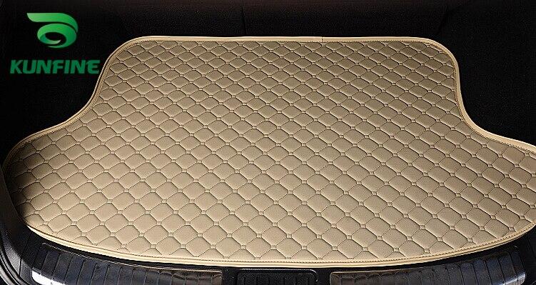 Car Styling Car Trunk Mats for Audi Q3 Trunk Liner Carpet Floor Mats Tray Cargo Liner Waterproof 4 Colors Opitional car styling car trunk mats for mitsubishi outlander trunk liner carpet floor mats tray cargo liner waterproof 4 colors opitional