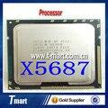 100% Работает На Intel Xeon X5687 Процессор 3.6 ГГц/LGA1366/12 МБ Четырехъядерный процессор Полностью Протестированы