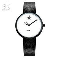 Leather Band Women Watches Top Brand Quartz Watch Female Clock Relogio Feminino Luxury Brand Bayan Kol