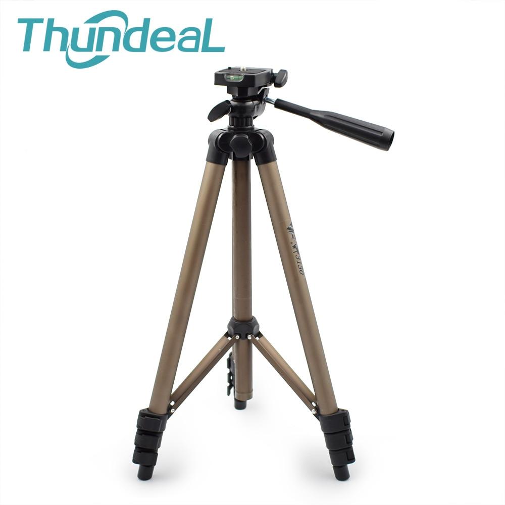 Thundeal WT3130 Halter Projektor Kamera Stativ für Canon Nikon Sony DSLR Kamera Camcorder Stativ mit Kipphebel