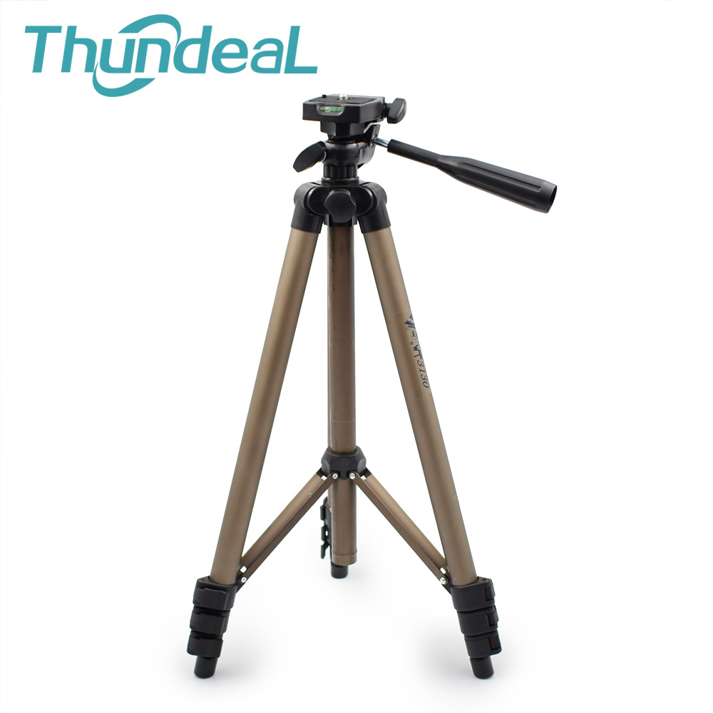 Thundeal WT3130 Holder Projector Camera Tripod Stand for Canon Nikon Sony DSLR Camera Camcorder Tripod Stand with Rocker Arm protable lightweight aluminum camera tripod with rocker arm carry bag for canon nikon sony dslr camera camcorder