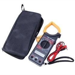 DT266X dijital voltmetre ampermetre multimetre Volt AC DC test cihazı kelepçe sarı