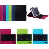 Free Shipping Removable ABS Wireless Bluetooth Keyboard Case Cover For Samsung GALAXY Tab 3 Lite 7