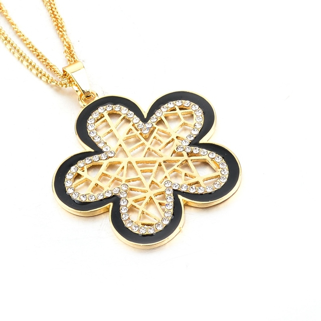 Купить chicvie ожерелья и подвески золотого цвета в стиле ретро с цветами картинки