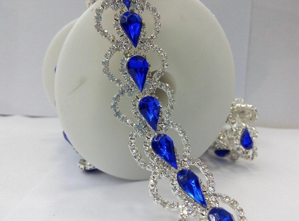 strass applique garniture perles ruban robe de mari e costume coudre sur la broderie de dentelle. Black Bedroom Furniture Sets. Home Design Ideas
