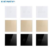 EU/UK Standard Bonda Wall Switch, Light Touch Switc