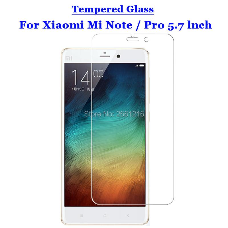ad27f25a31 Para Xiao mi nota vidrio templado 9 h 2.5d pre mi um pantalla Películas  para Xiao mi nota /nota pro 5.7
