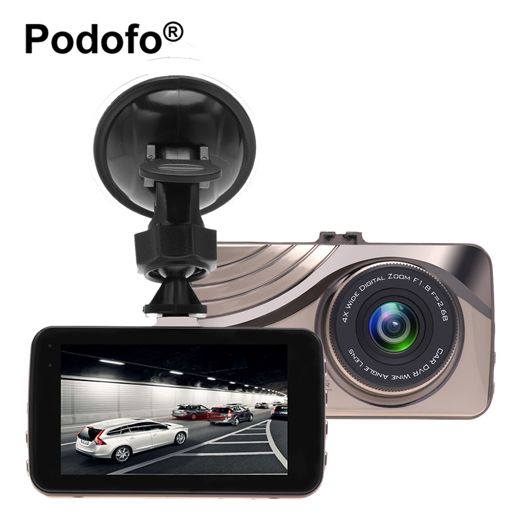 все цены на Podofo 3.0 Inch Registrator Car Dvr Camera Novatek 96655 Dash Cam Full HD Video Recorder HDR Car Cam Night Vision Blackbox