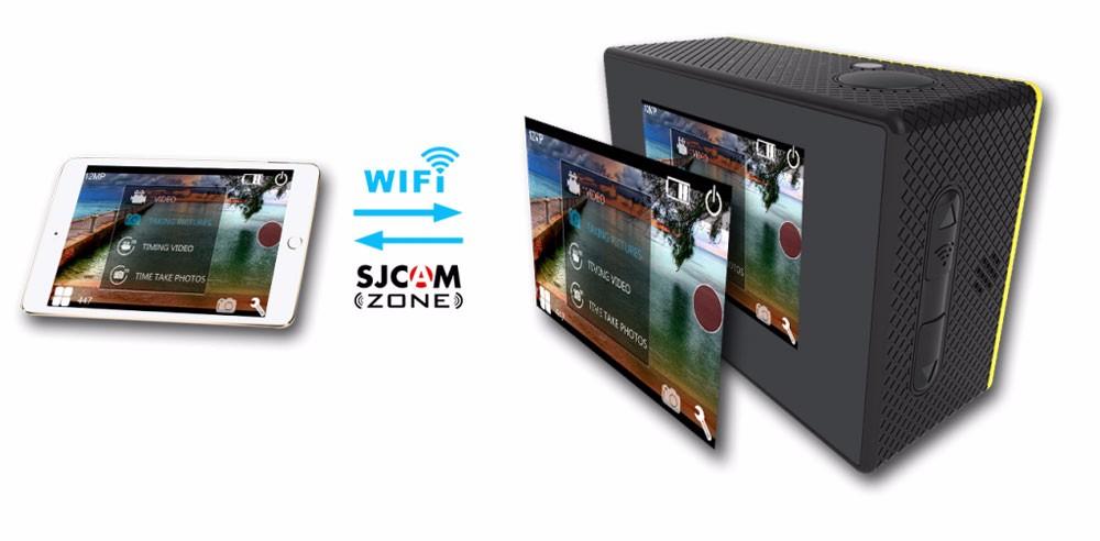 original sjcam sj4000+ plus wifi 2k action camera 6