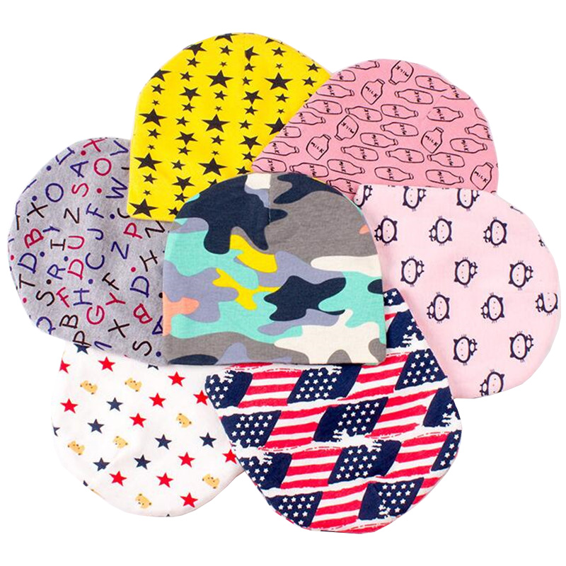 ec4477786eb Wholesale 10pcs lot Baby Cap and Hats Cotton Toddler Beanie Infant Hats Fit 6  Months 3 Age Kids Hat for Boys and Girls Fashion C-in Hats   Caps from  Mother ...