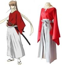 Japanese Anime Gintama Okita Sougo Cosplay Costume Japanese Kimono Uniform Outfit Adult Halloween Costumes for Women/Men S-XL цена