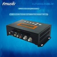FUTV4656C DVB T/DVB C(QAM)/ATSC MPEG 2 SD Encoder Modulator