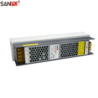 SANPU Dimmable LED Driver 24V 100W 4A Triac & 0 10V Dimming 2in1 Power Supply 24VDC 220V 230V AC/DC 24Volt Lighting Transformer