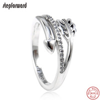 9e226aa69388 New Collection High Quality Popular Sporty 925 Sterling Silver Sparkling  Arrow Ring Vintage Gothic Women S