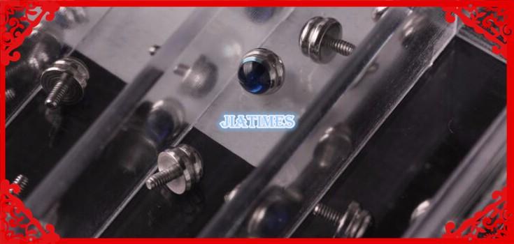 Бесплатная Доставка 1 Компл. Нержавеющей Бар Пружинной Стали в 1.5 мм Размер Диаметра от 16 до 24 мм для Часов ремонт