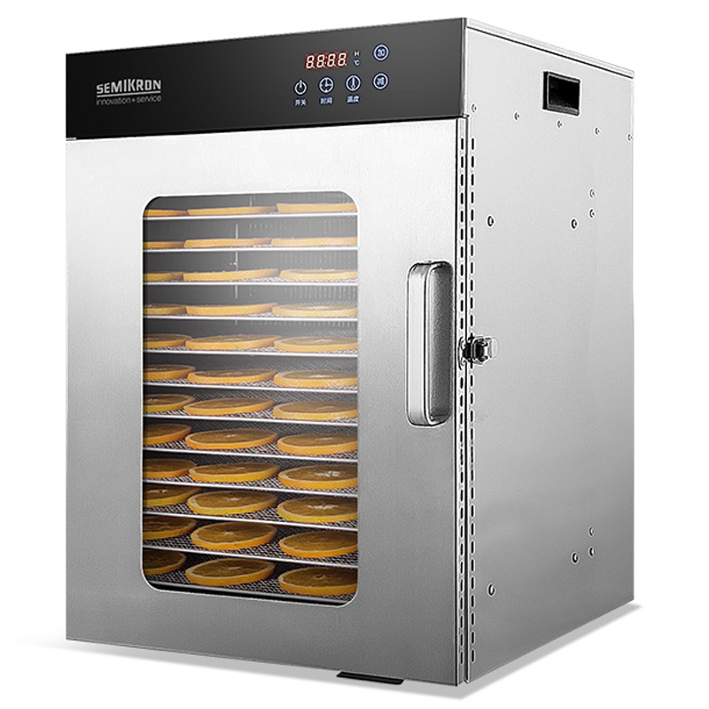 220V electric food dehydrator machine stainless steel 16 layers trays meat tea vegetable fruit dryer fish drying machine 1350w|Dehydrators| |  - title=