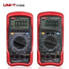 UNI-T UT56 ЖК-Цифровой Мультиметр DC AC Вольт Ампер Ом Емкость Гц Тестер Метр Ручной мультиметр