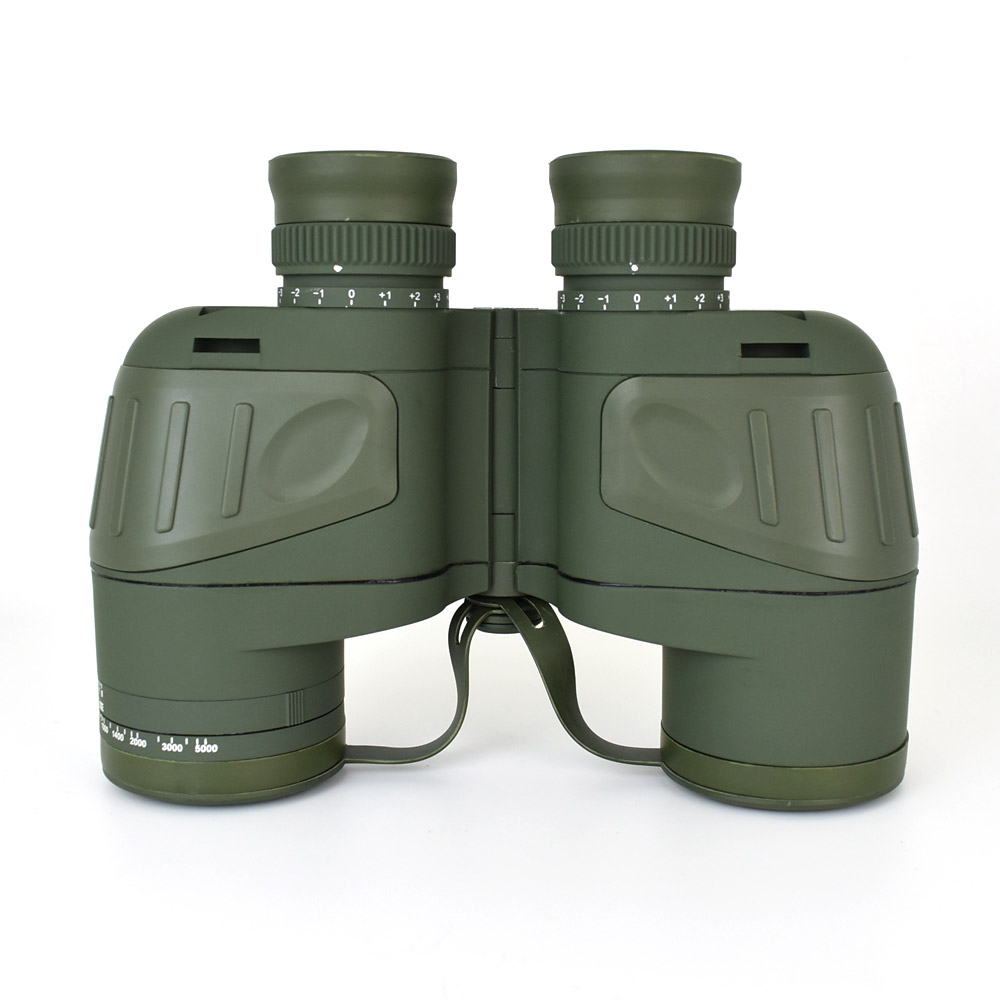 Scope Telescope Shockproof Camping Military Hunting With Optics Travel For Boshiren Waterproof Binocular Compass Spotting 10X50