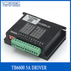 HY-DIV268N-5A subdivision-type two-phase hybrid stepping motor drive using DC 12 ~ 48V power supply, suitable for drive
