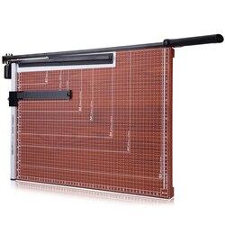 DELI papier-cutter büro B3 holz trimmer foto papier cutter büro papier schneiden maschine arbeitsersparnis büro schneiden liefert