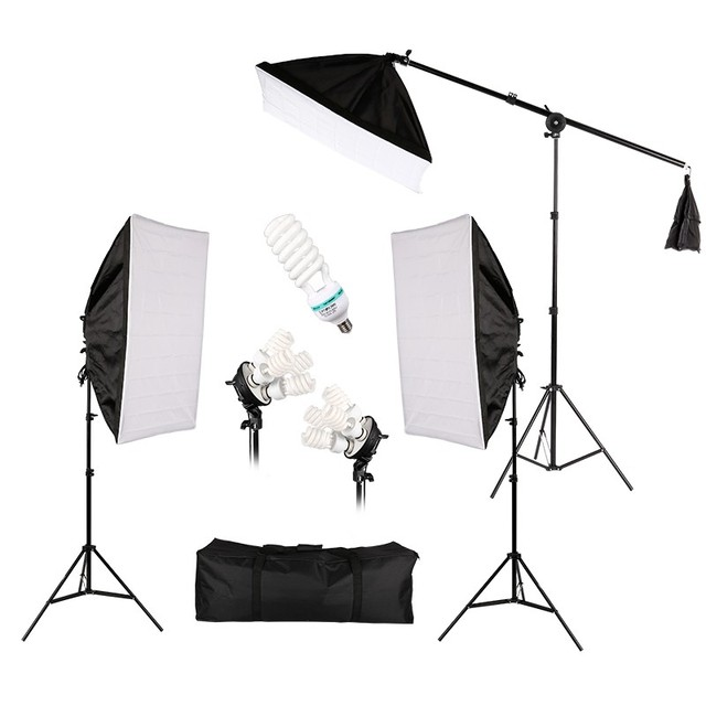 Hot Sale Photo Studio Lighting Kit Photography Portrait Product Light Tent Video Equipment