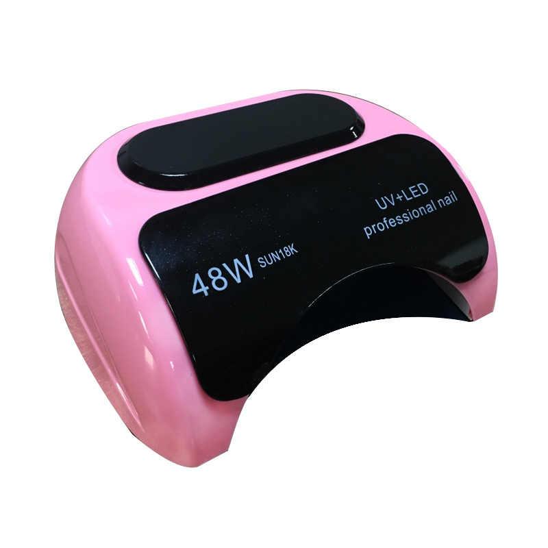 48 Вт/24 Вт Сушилка для ногтей Светодиодный УФ-лампа для геля лак для ногтей сушилка для геля Декоративный Лак для ногтей автоматический датчик руки инструменты для дизайна ногтей