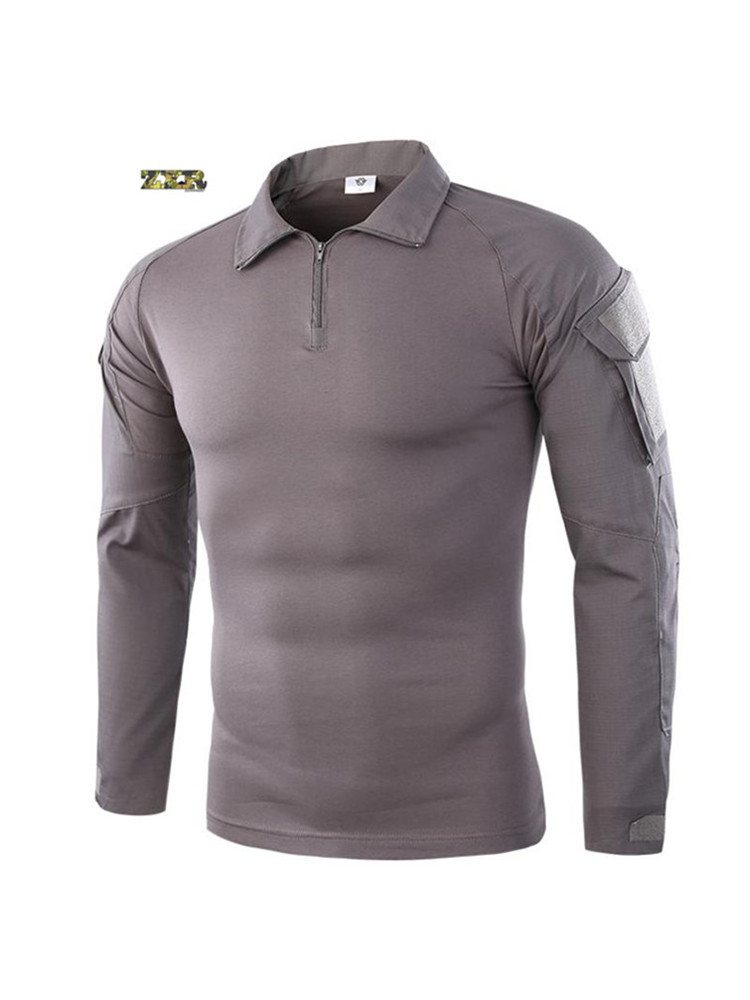 All Sizes QUICKDRY URBAN GREY T-SHIRT Poly- Top Military Wear Durable