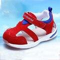 Bebé de la Muchacha Primero Caminantes Zapatos de Entrenamiento Para Niños Meisje Schoenen Zapatos Descalzos Artículos de Bebé Mocasines Niño 503094