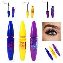 1pc Brand Black Mascara False Eyelashes Colossal Volume Express Make Up Eyes Curling