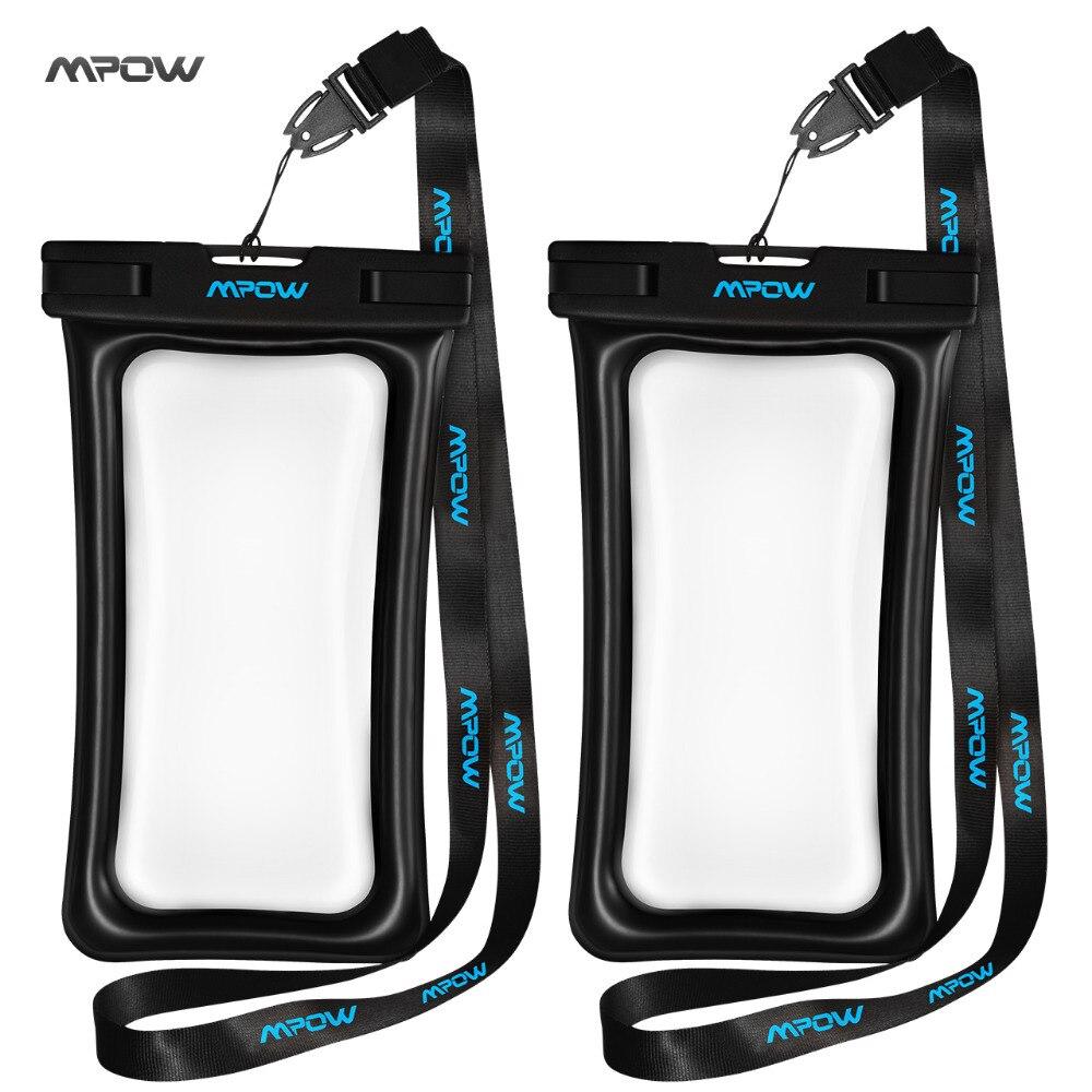 Mpow IPX8 wasserdichte tasche Universal Handytasche Schwimmen Fall Einfach Nehmen foto unter wasser für iphone sumsung huawei