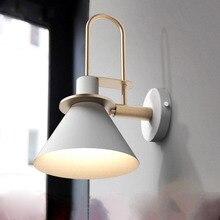 Creative modern wall lights iron art E27 fishion lamps foyer dining room decorative lumiere exterieur
