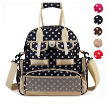 New Fashion Baby Diaper Backpack Shoulders Baby Maternity Mother Bag Baby Diaper Nappy Changing Bag Stroller