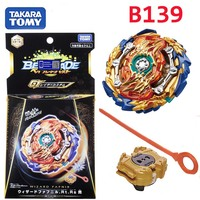 Takaratomy Bayblade Burst B 139 Starter Wizard Fafnir . Rt . Rs Sen bay blade with launcher Bayblade gyroscope Toys for boy