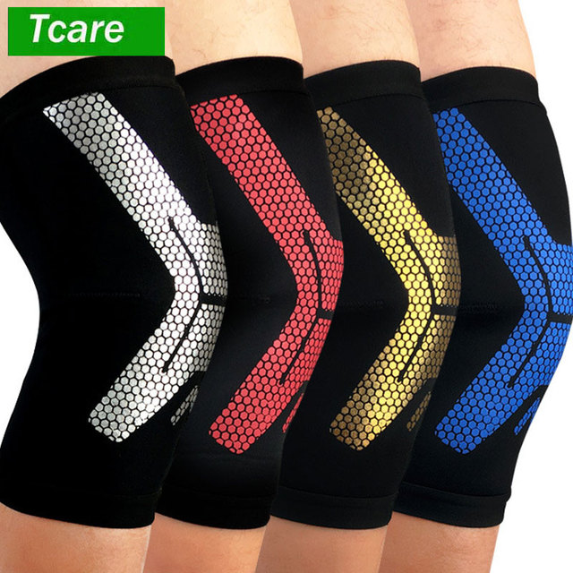 1d73d409e7 Tcare 1Pcs Knee Brace, Knee Compression Sleeve Support for Running,  Arthritis, ACL, Meniscus Tear, Sports, Joint Pain Relief