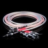 3M/pair Nordost Valhalla Audio hifi Loundspeaker cable with carbon fiber banana plug connector